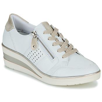 Scarpe Donna Sneakers basse Remonte Dorndorf DORA Bianco / Oro