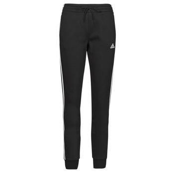 Abbigliamento Donna Pantaloni da tuta adidas Performance W 3S FL C PT Nero