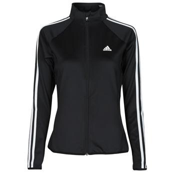 Abbigliamento Donna Giacche sportive adidas Performance W 3S TJ Nero