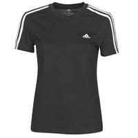 Abbigliamento Donna T-shirt maniche corte adidas Performance W 3S T Nero