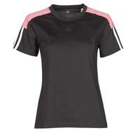 Abbigliamento Donna T-shirt maniche corte adidas Performance W CB LIN T Nero