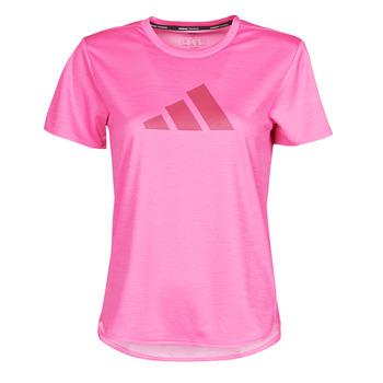 Abbigliamento Donna T-shirt maniche corte adidas Performance BOS LOGO TEE Rosa