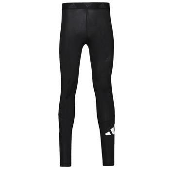 Abbigliamento Uomo Leggings adidas Performance TF 3 BAR LT Nero
