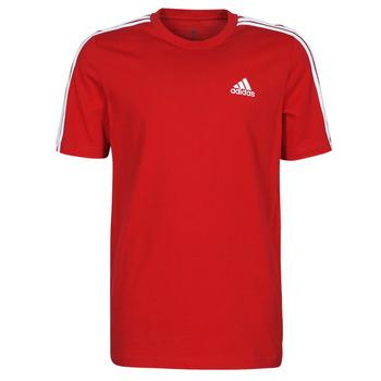 Abbigliamento Uomo T-shirt maniche corte adidas Performance M 3S SJ T Rosso