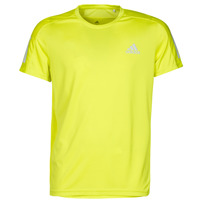 Abbigliamento Uomo T-shirt maniche corte adidas Performance OWN THE RUN TEE Giallo
