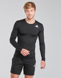 Abbigliamento Uomo T-shirts a maniche lunghe adidas Performance TF LS Nero