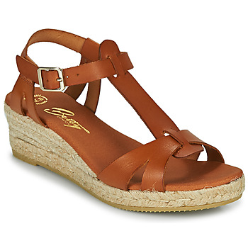 Scarpe Donna Sandali Betty London OBORSEL Cognac