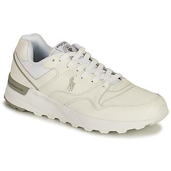 Scarpe Uomo Sneakers basse Polo Ralph Lauren TRCKSTR PONY-SNEAKERS-ATHLETIC SHOE Bianco