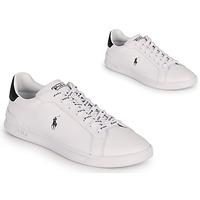 Scarpe Uomo Sneakers basse Polo Ralph Lauren HRT CT II-SNEAKERS-ATHLETIC SHOE Bianco / Nero