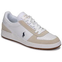 Scarpe Sneakers basse Polo Ralph Lauren POLO CRT PP-SNEAKERS-ATHLETIC SHOE Bianco