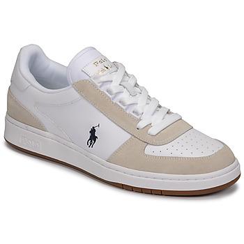 Scarpe Uomo Sneakers basse Polo Ralph Lauren POLO CRT PP-SNEAKERS-ATHLETIC SHOE Bianco