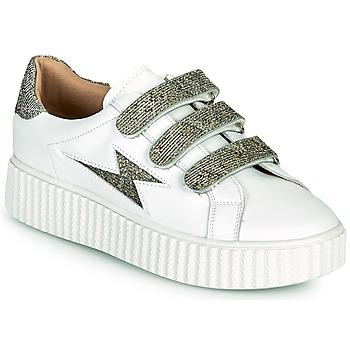 Scarpe Donna Sneakers basse Vanessa Wu BK2231AN Bianco / Grigio
