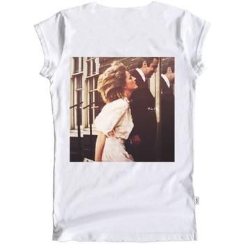 Abbigliamento Donna T-shirt maniche corte Ko Samui Tailors Princess I Have A Dream T-Shirt Bianco  KSUTB Bianco