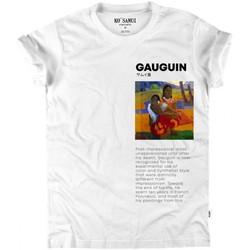 Abbigliamento Donna T-shirt maniche corte Ko Samui Tailors Paul Gauguin Art T-Shirt Bianco  KSUTB 336 PA Bianco