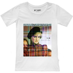 Abbigliamento Donna T-shirt maniche corte Ko Samui Tailors Shine Spencer T-Shirt Bianco  KSUTF C18 SPENC Bianco
