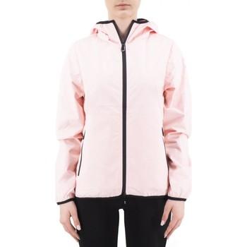 Abbigliamento Donna Giubbotti Sunstripes Flaminia Ghost Hoody Jacket Rosa  SNSFLAMIN Rosa