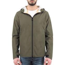 Abbigliamento Uomo Giubbotti Sunstripes Aurelio Ghost Hoody Jacket Verde  SNSAURELI Verde