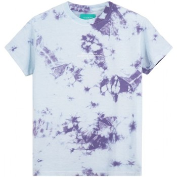 Abbigliamento Uomo T-shirt maniche corte Backsideclub T-Shirt Perception Viola  BSCTHTD 133 PER Viola