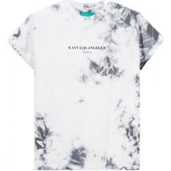 Abbigliamento Uomo T-shirt maniche corte Backsideclub T-Shirt East Los Angeles Grigio BSCTHTD 1 Grigio