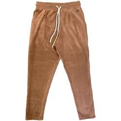 Abbigliamento Uomo Pantaloni Ko Samui Tailors Basic Chenille Pants Marrone  KSUPCM BASIC FW1 Marrone