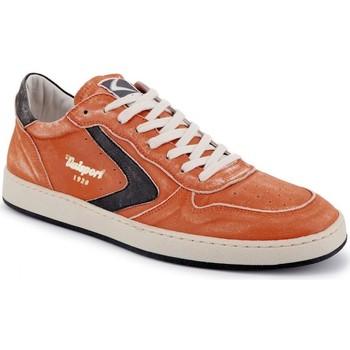 Scarpe Uomo Sneakers basse Valsport New Davis Nappa Spazzolata Arancio  VALVDSL002 Arancio