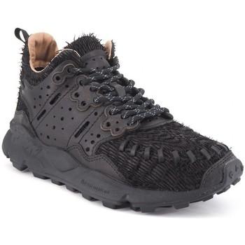 Scarpe Uomo Sneakers basse Flower Mountain Sneaker Mustard Walnut Nero  FWM001 20 Nero