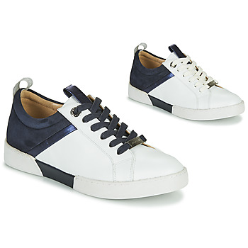 Scarpe Bambina Sneakers basse JB Martin GELATO Bianco / Marine
