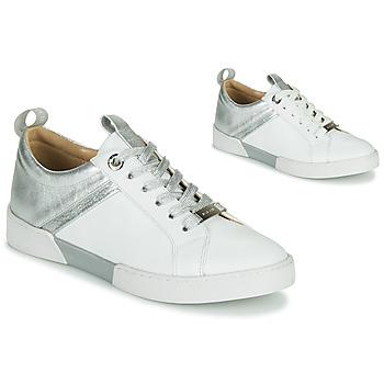 Scarpe Bambina Sneakers basse JB Martin GELATO Bianco / Argento