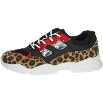 Scarpe Bambina Sneakers basse Pinko Up 025305 NERO/BEIGE