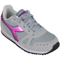 Scarpe Bambina Running / Trail Diadora simple run gs girl 65010 Rosa
