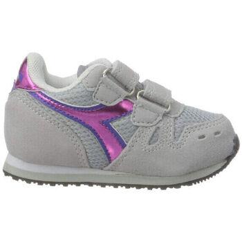 Scarpe Bambina Running / Trail Diadora simple run td girl 65010 Rosa