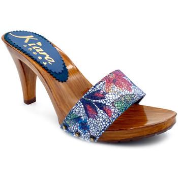 Scarpe Donna Zoccoli Kiara Shoes K6103 Blu