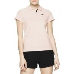 Abbigliamento Donna Polo maniche corte 4F Womens Polo rosa