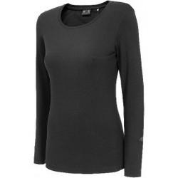 Abbigliamento Donna Felpe 4F Womens Longsleeve nero