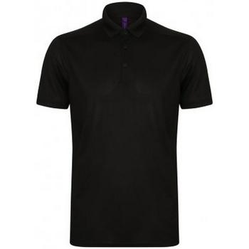 Abbigliamento Uomo Polo maniche corte Henbury HB460 Nero
