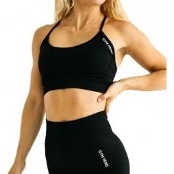 Abbigliamento Donna Reggiseno sportivo Gymhero California Cute Bra nero