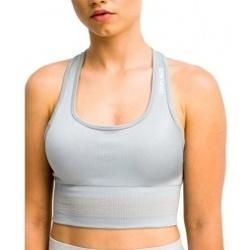 Abbigliamento Donna Reggiseno sportivo Gymhero Stripes Bra grigio