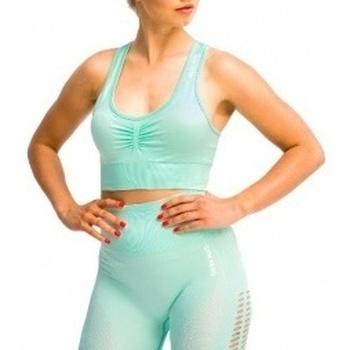 Abbigliamento Donna Reggiseno sportivo Gymhero California Cute Bra verde