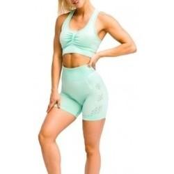 Abbigliamento Donna Shorts / Bermuda Gymhero California Cute Shorts verde