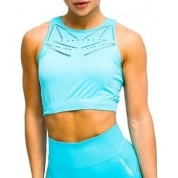 Abbigliamento Donna Reggiseno sportivo Gymhero Venice Beach Top Short Bra blu