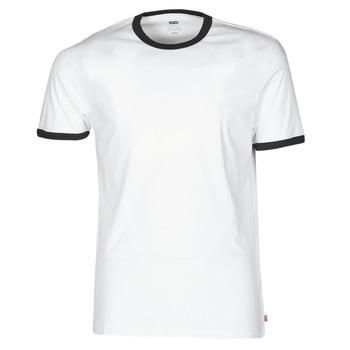 Abbigliamento Uomo T-shirt maniche corte Levi's SS RINGER TEE Bianco