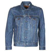 Abbigliamento Uomo Giacche in jeans Levi's THE TRUCKER JACKET Giallo