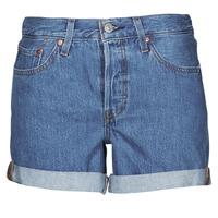 Abbigliamento Donna Shorts / Bermuda Levi's 501 ROLLED SHORT Blu