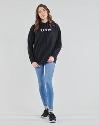 Abbigliamento Donna Jeans skynny Levi's 711 SKINNY Blu