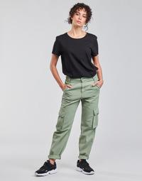 Abbigliamento Donna Pantalone Cargo Levi's LOOSE CARGO Grigio / Verde