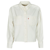 Abbigliamento Donna Camicie Levi's ZOEY PLEAT UTILITY SHIRT Bianco