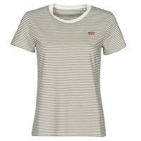 Abbigliamento Donna T-shirt maniche corte Levi's PERFECT TEE Beige