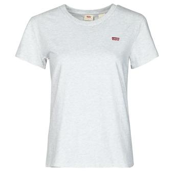 Abbigliamento Donna T-shirt maniche corte Levi's PERFECT TEE Grigio