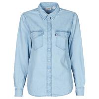 Abbigliamento Donna Camicie Levi's ESSENTIAL WESTERN Blu