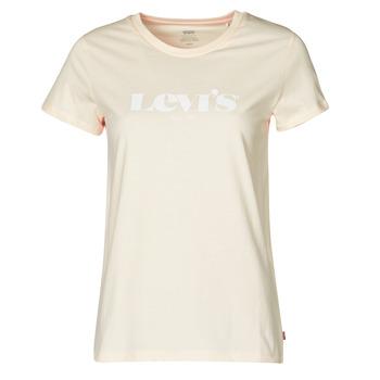 Abbigliamento Donna T-shirt maniche corte Levi's THE PERFECT TEE Beige